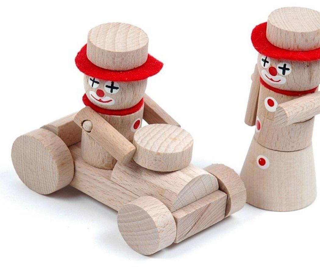 Los juguetes de madera nunca pasan de moda