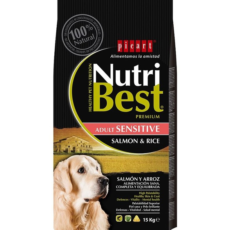 NutriBest Adulto Salmón y Arroz.