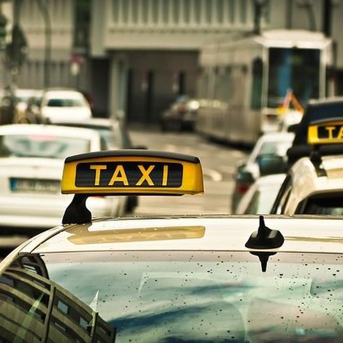 Ventajas de ir en taxi