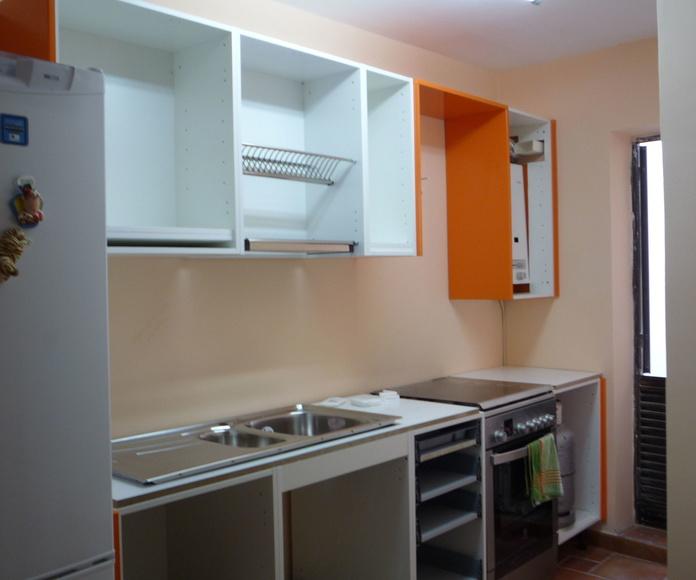 Reforma de cocina en vivienda Santa Cruz de Tenerife