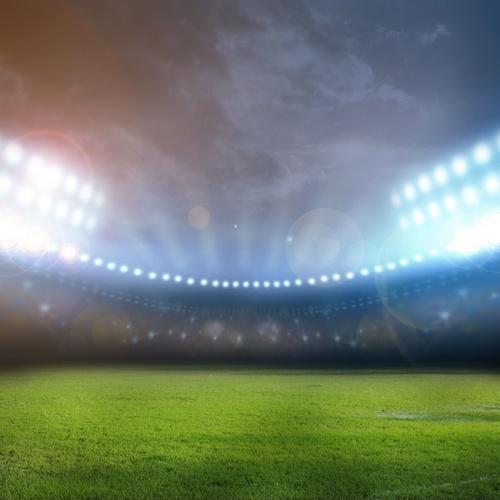 Mantenimiento de alumbrado en campos de fútbol