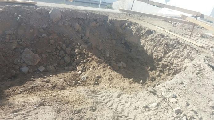 Excavación de piscina callao salvaje