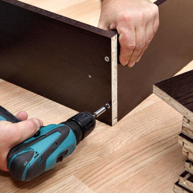 El desmontaje de muebles en las mudanzas