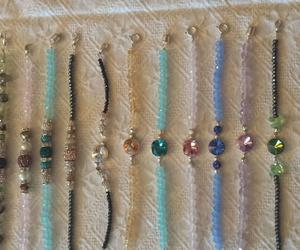 Nuevas  pulseras de piedras naturales semipreciosas, Swarovsky  y plata