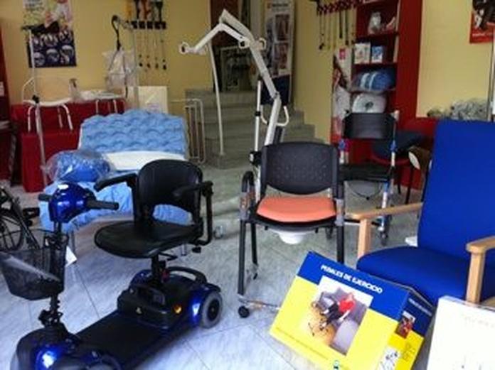 Ayudas técnicas: Catálogo de Ortopedia Hospitalet