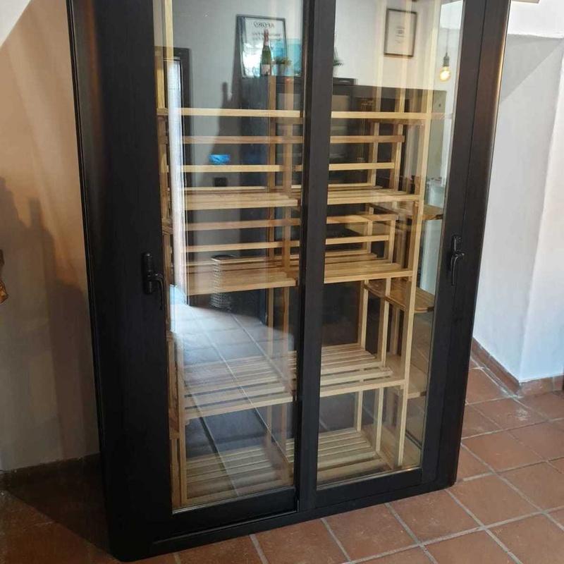 Cámara para vinos , vinoteca artesanal