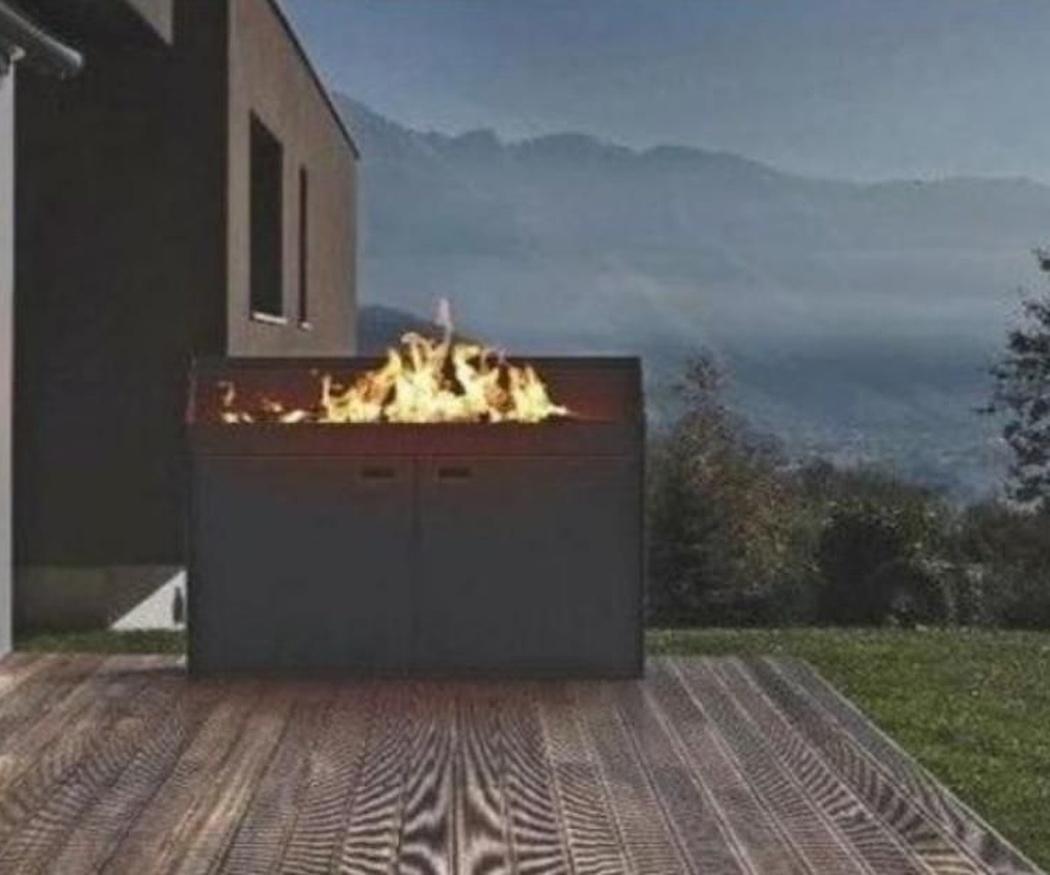 Algunas ideas para colocar fuego en el exterior
