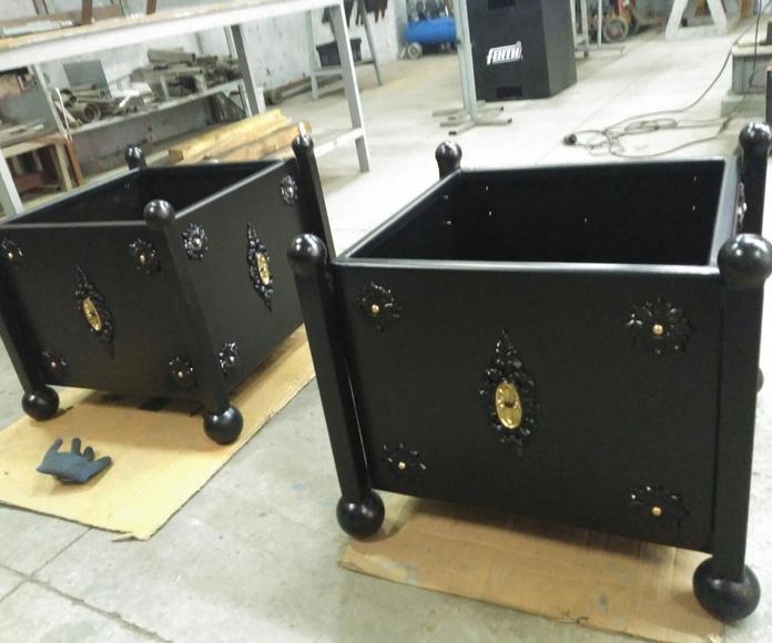 Fabricación de productos de hierro y forja: Servicios de Equiporama