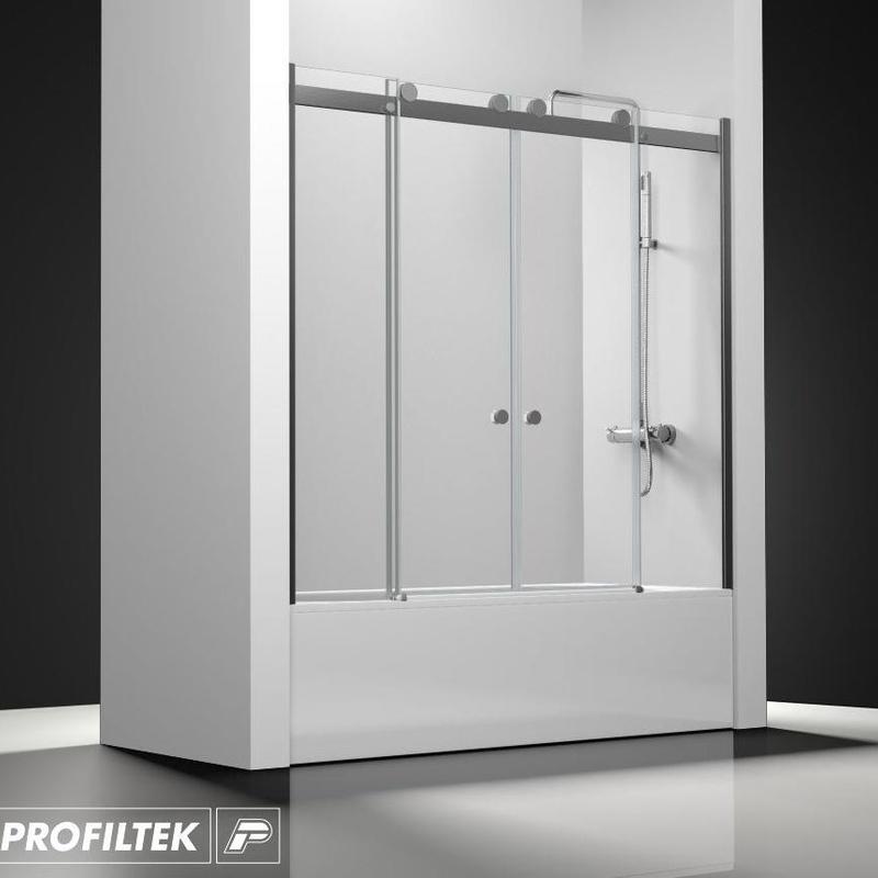 Mampara de baño a medida Profiltek serie Select modelo SLC-125