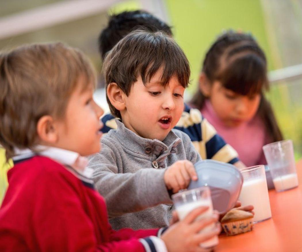 Nutrición, inglés y diversión en la escuela infantil