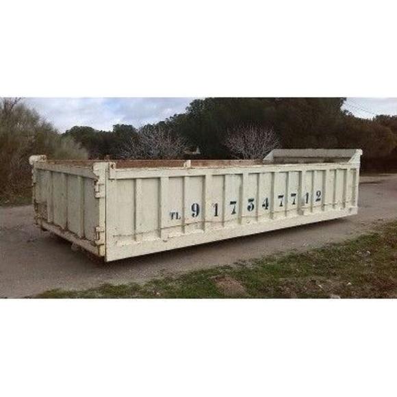 Transporte y alquiler de contenedores de obras de 4, 7, 12, 14, 22 y 30 m³: Servicios de Movimientos de Tierra Ercon