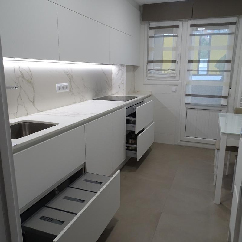 Reforma de cocina en Galdakao - Vizcaya: Servicios de Aldairu Cocinas