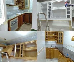 Fotos de esmaltado de muebles de cocina