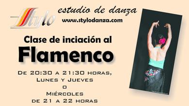 Curso de iniciación al Flamenco, hoy comienzan las clases