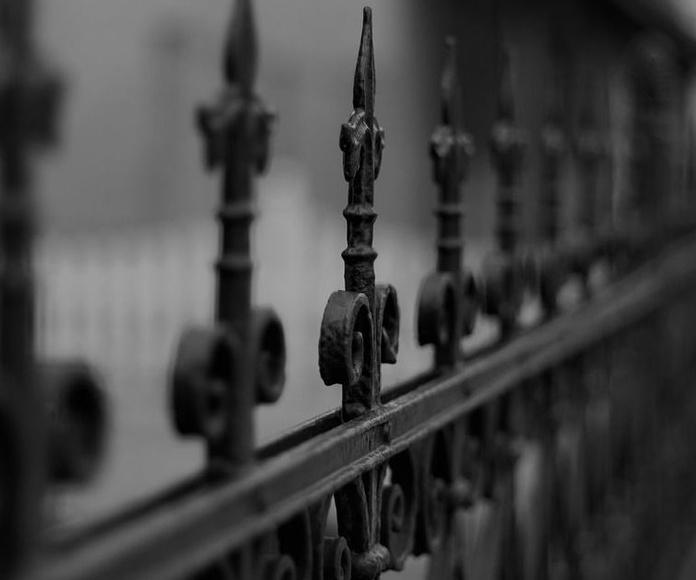 Rejas y verjas: Catálogo cerrajería  de acero de Montajes Arjosan