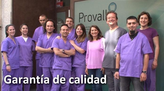 Calidad garantizada: Servicios de Provall Prótesis Valladolid