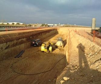 Agua descontaminada  : Servicios de Perforacions Pla de I'Estany