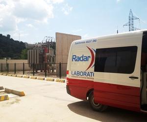 Ensayo de descargas parciales en Parque eólico Masegoso