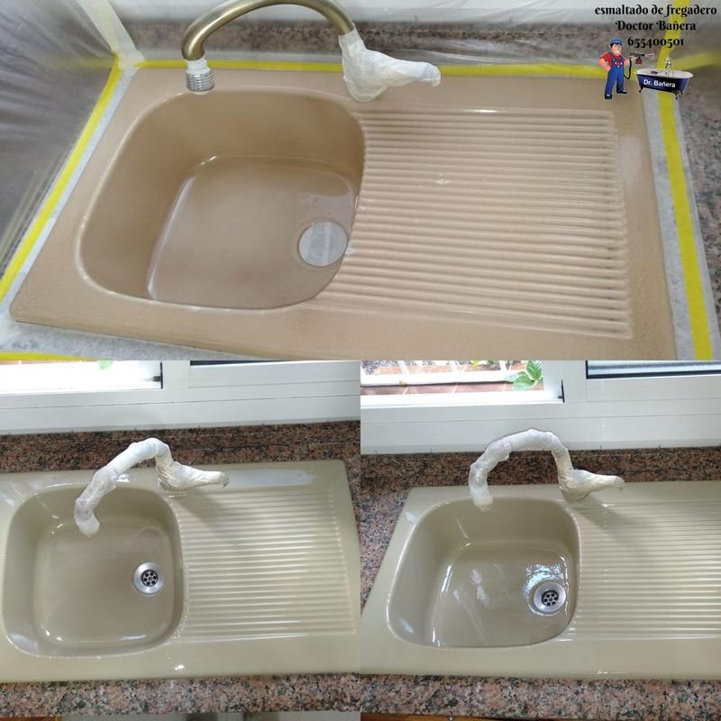 Esmaltado de lavamanos y fregaderos: Servicios de DOCTOR BAÑERA RESTAURACIONES FIVE STARS