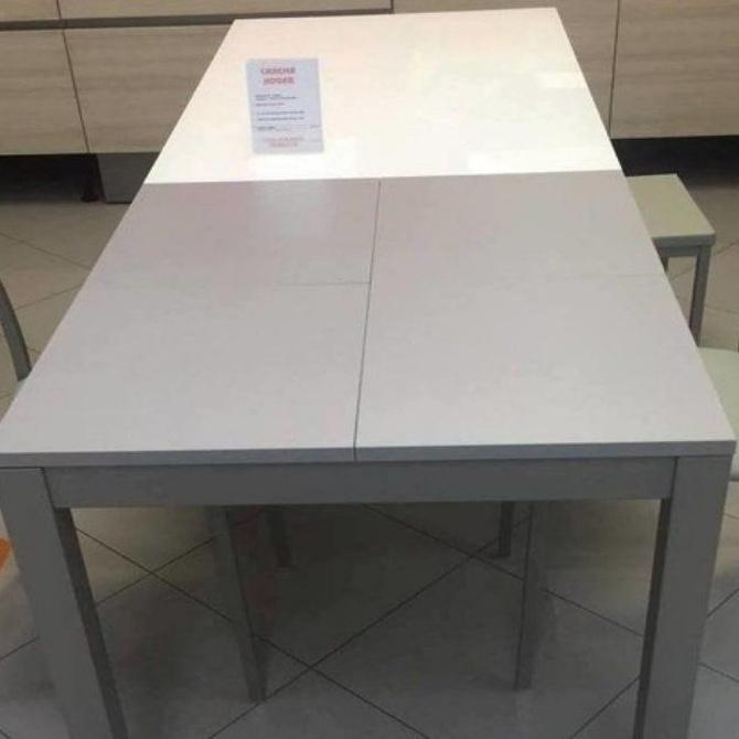La mesa extensible para las cocinas pequeñas