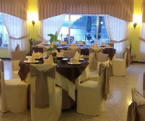 Decoración para eventos especiales en el restaurante