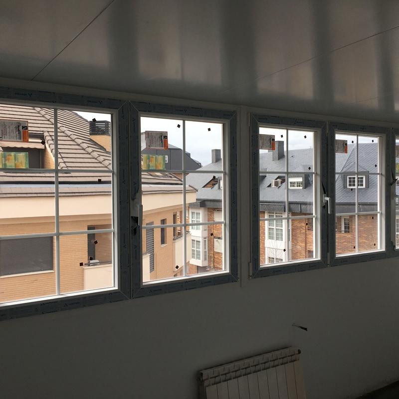 Ventanas y puertas PVC: Productos y Servicios de Cerrajería Marchal