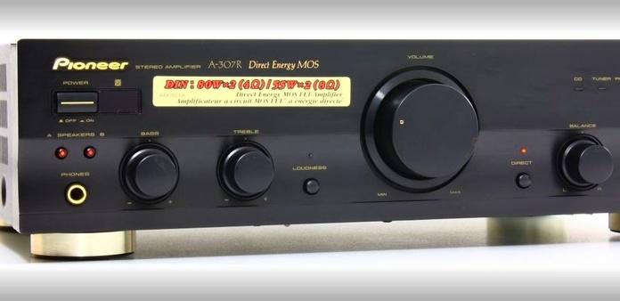Amplificador hifi Pioneer A-307R: Nuestros productos de Sonovisión Parla