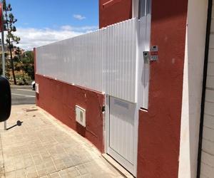 vallas y cercados de aluminio