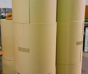 Bobinas de cartón ondulado de ø 30 cm.