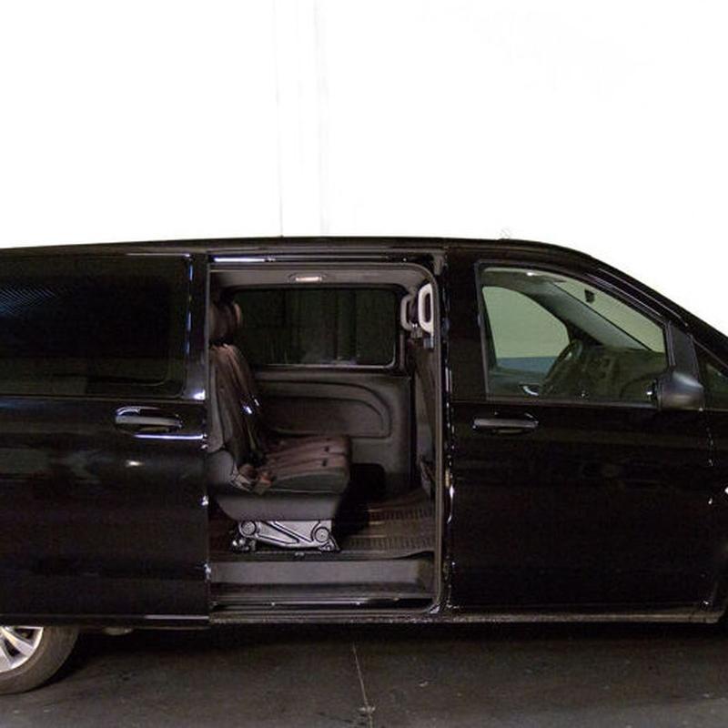 Alquiler de Mercedes Vito con conductor en Madrid