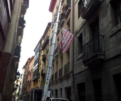 Mudanzas en el Casco Viejo de Bilbao