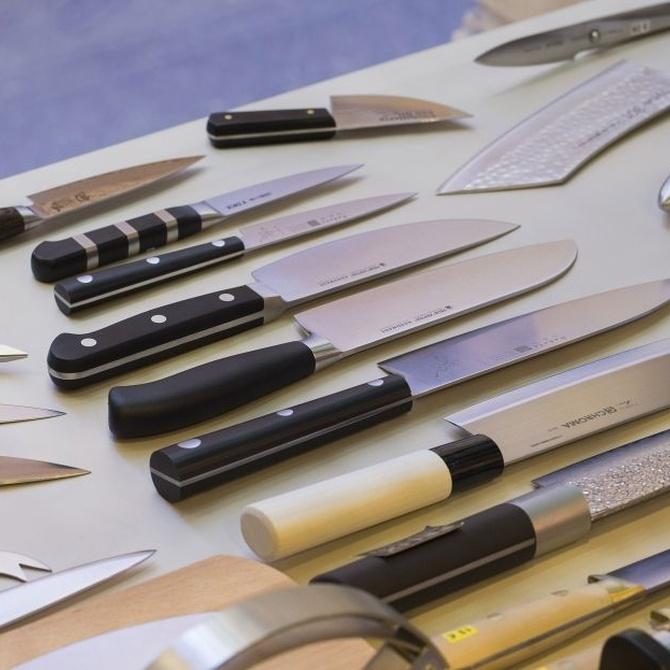 Tipos de cuchillos de cocina (I)