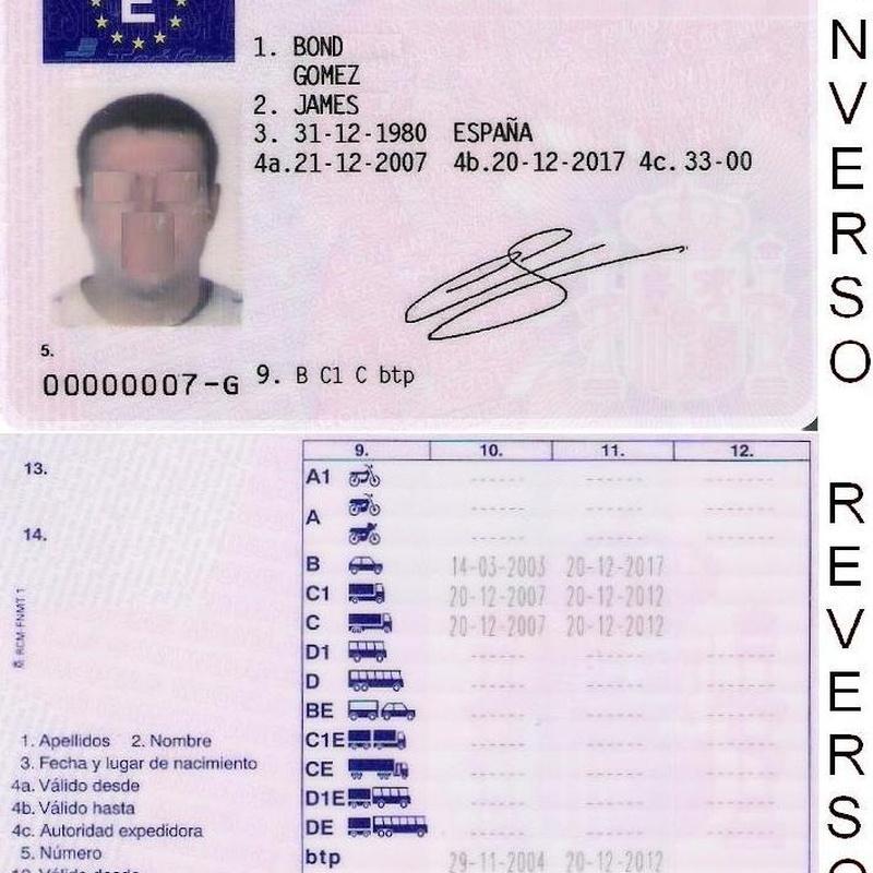 Carnet de conducir : Reconocimiento médico  de Centro Médico del Conductor