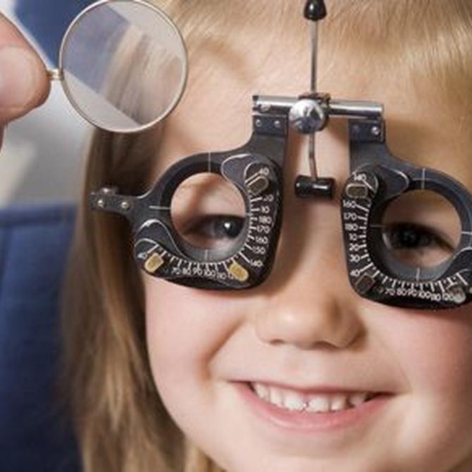 Cómo detectar problemas de visión en nuestros hijos