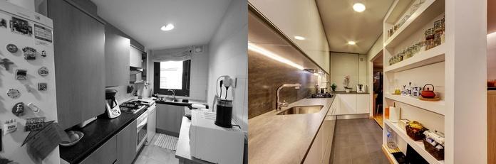 Diseño y reforma de vivienda en Hospitalet de Llobregat.