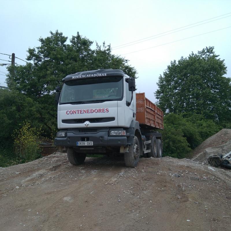 Transporte para obras e industria