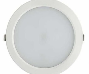 Downlight led 25w Blanco/Plata