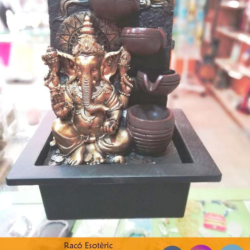 Fuente de Ganesha: Cursos y productos de Racó Esoteric Font de mi Salut