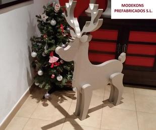 Figuras para decorar tiendas o escaparates navideños