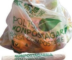 Bolsas compostables