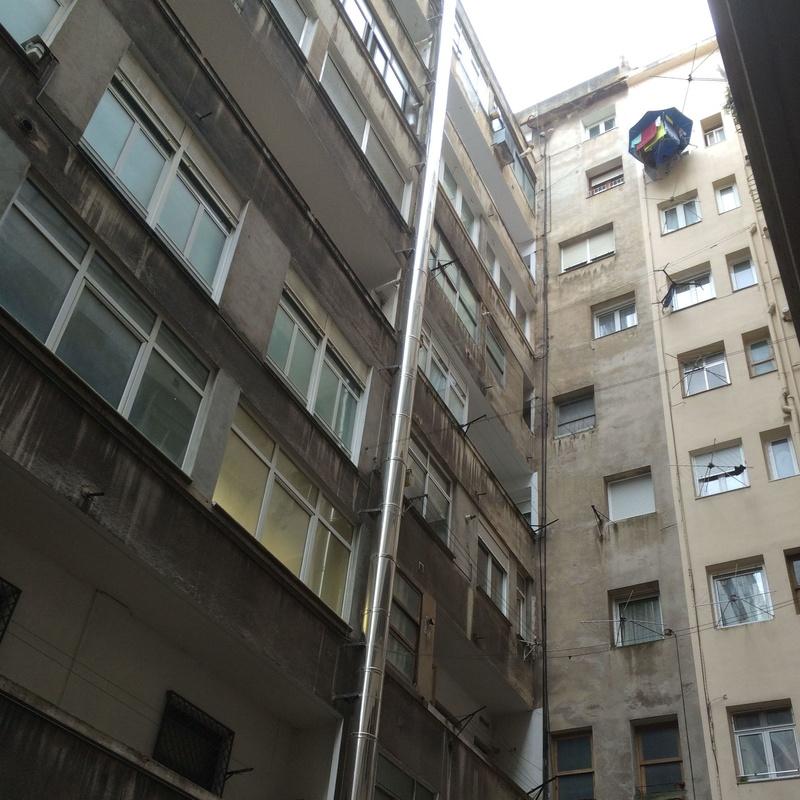 Rehabilitación de fachadas y patios interiores en Santander-Torrelavega.