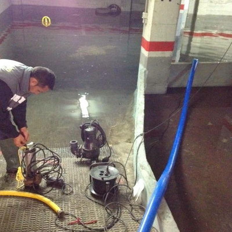 Inundaciones: Servicios de Pele & Cano Desatascos