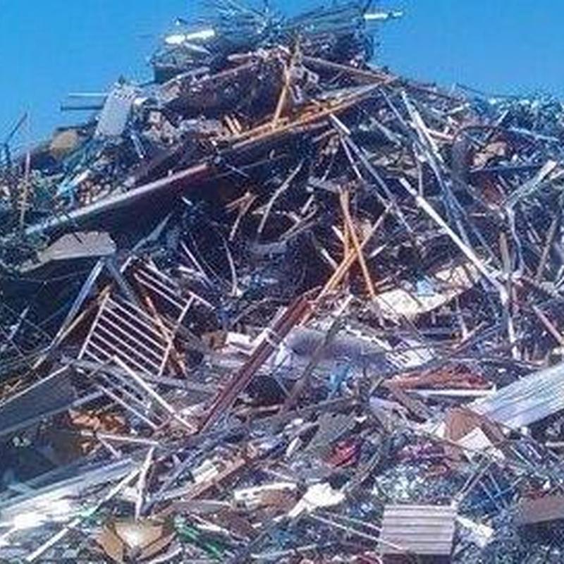 Reciclaje de chatarras y metales: Servicios de Reciclajes Montesinos