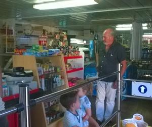 Supermercado/Supermarket Camping Faro Trafalgar