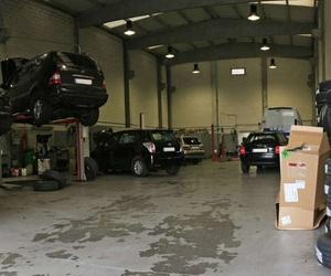 Interior de nuestro taller mecánico
