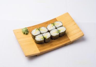 Maki aguacate con queso