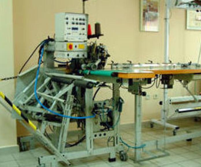 Servicio técnico de maquinaria textil industrial: Productos y servicios de Sercovalls 2002