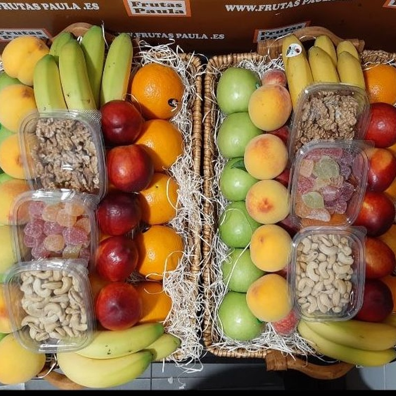 cestas personalizadas para regalar: Catálogo de FRUTAS PAULA