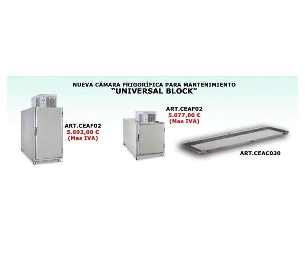 """Nueva cámara frigorífica para manetenimiento """"Universal Block"""""""