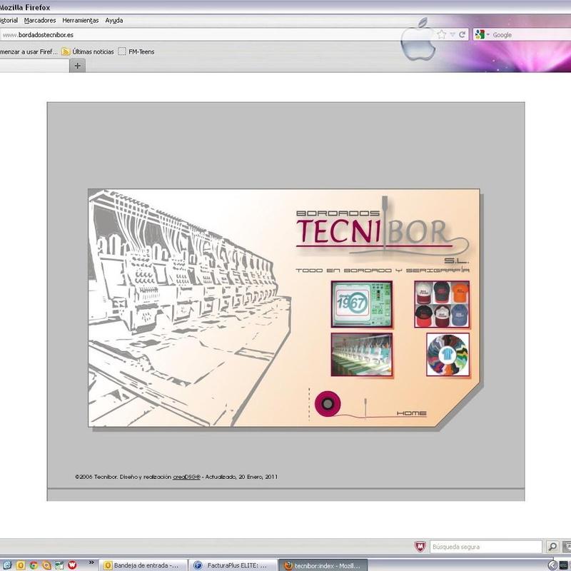 Diseño: Catálogo de bordados de Bordados Tecnibor, S.L.